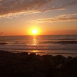 Sonnenuntergang 3; Foto: Fred Häusler