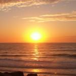 Sonnenuntergang 2; Foto: Fred Häusler