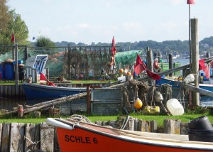 Fischereihafen Schleswig; Foto:Fred Häusler