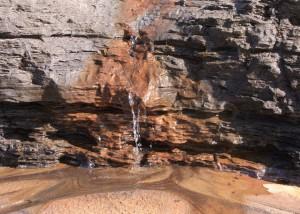 Kleiner Wasserfall; Foto: Fred Häusler