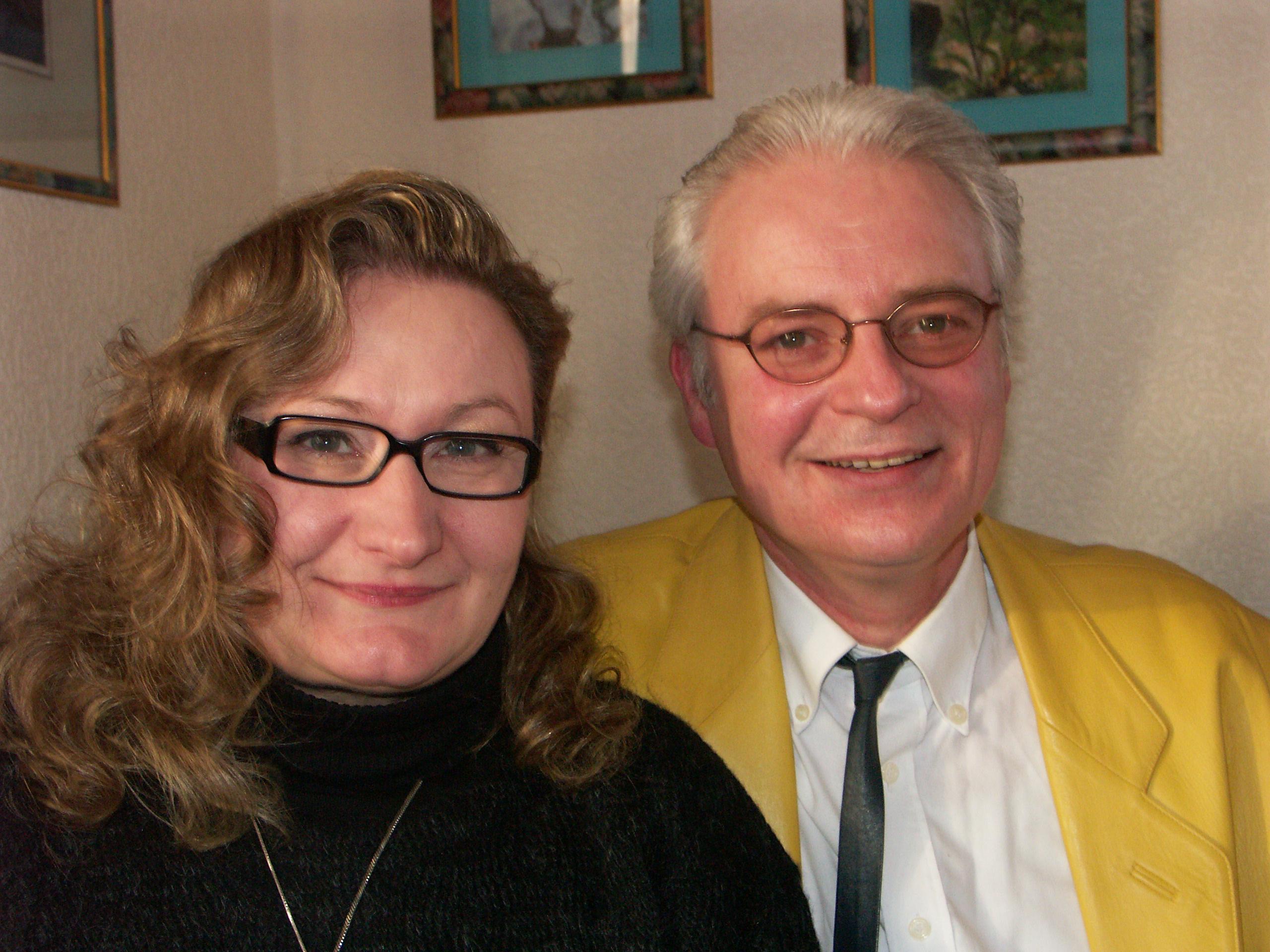 Christine und Fred Häusler; Foto: