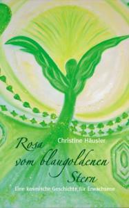 """Buchcover """"Rosa vom blaugoldenen Stern"""""""
